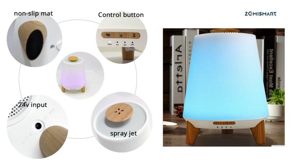 Diffusore di oli essenziali WiFi by Zemismart... un prodotto per ogni idea