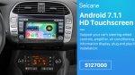 Recensione autoradio Android Seicane S127000