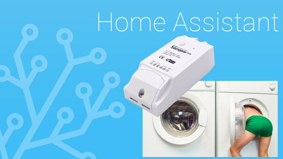 La lavatrice ha finito? Con Home Assistant te lo facciamo notificare!