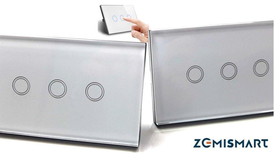 Deviatore virtuale con il Wall Switch WiFi di Zemismart