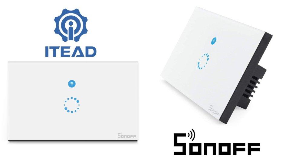 Recensione Sonoff Touch il Wall Switch di Itead