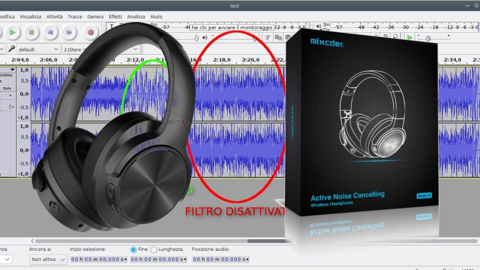 Mixcder E9 Cuffie Bluetooth con Cancellazione Attiva del Rumore