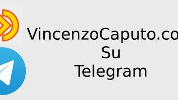 Da oggi puoi seguirci anche su Telegram