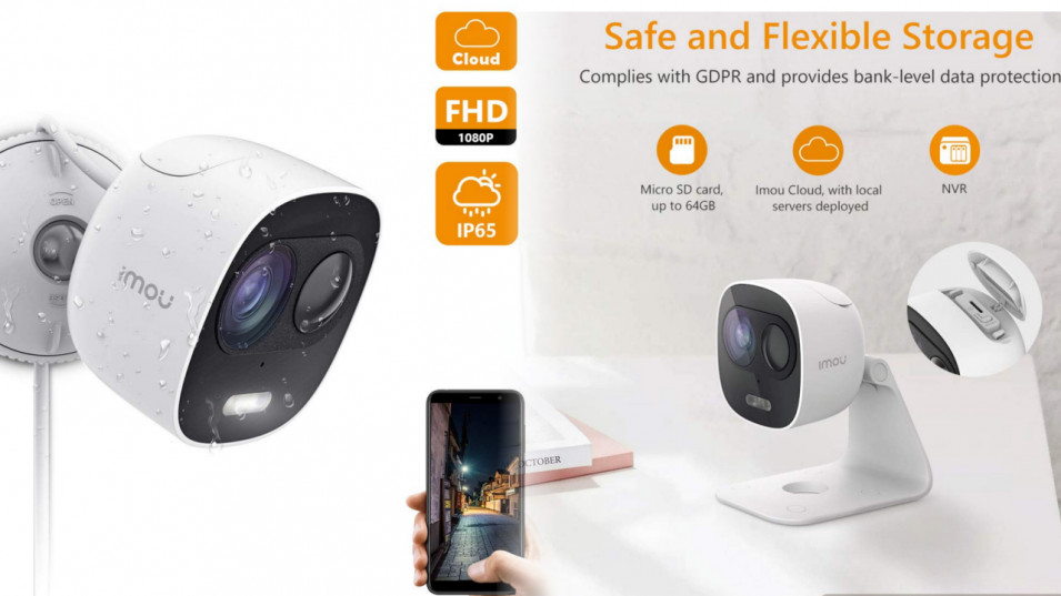 Recensione IMOU LOOC, la Outdoor security camera di DAHUA