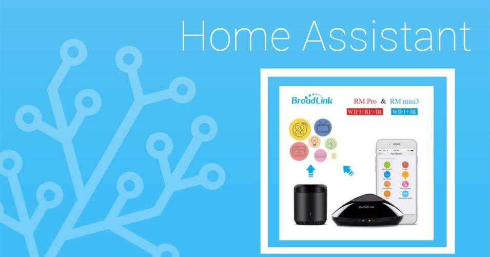 Come integrare il Broadlink RM pro e l'RM mini in Home Assistant