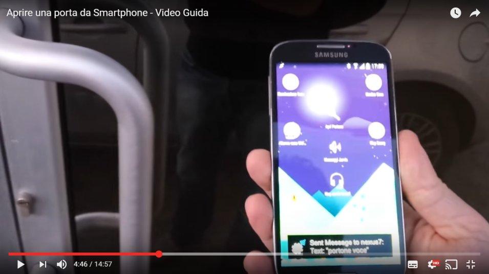 Come aprire una porta da Smartphone