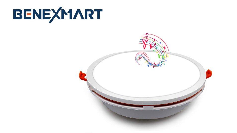 Lampada SMART da incasso con funzione di audio Bluetooth
