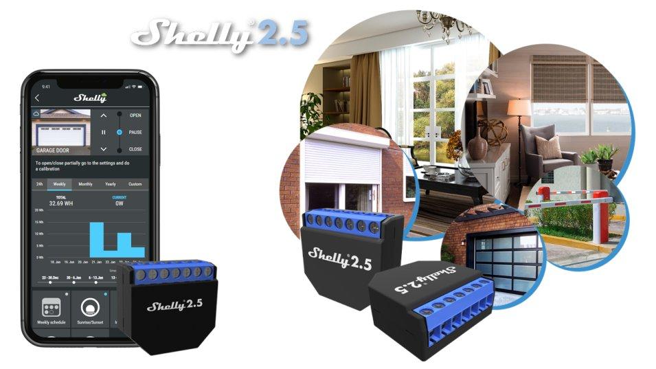 Shelly 2.5, levoluzione dello Shelly 2 provato per voi!