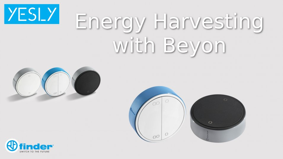 Energy Harvesting con il pulsante Beyon by Finder
