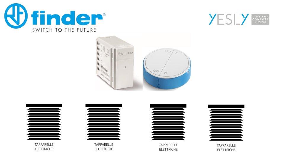 Automazione tapparelle - la soluzione Yesly by Finder