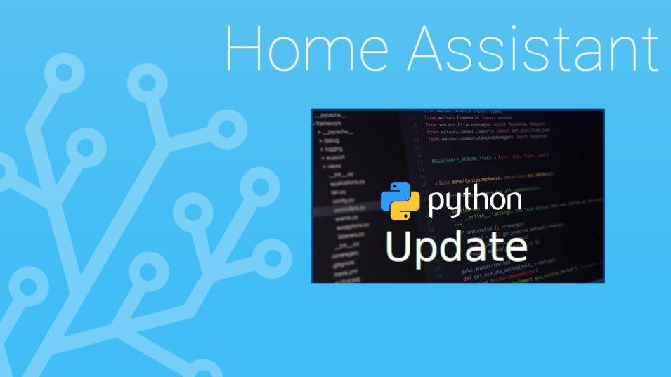 Aggiornare a Python 3.7.3 per compatibilità con Home Assistant