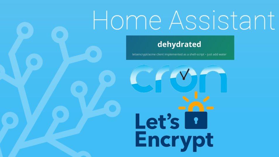 Come passare da let's Encrypt a Dehydrated per firma SSL su Home Assistant