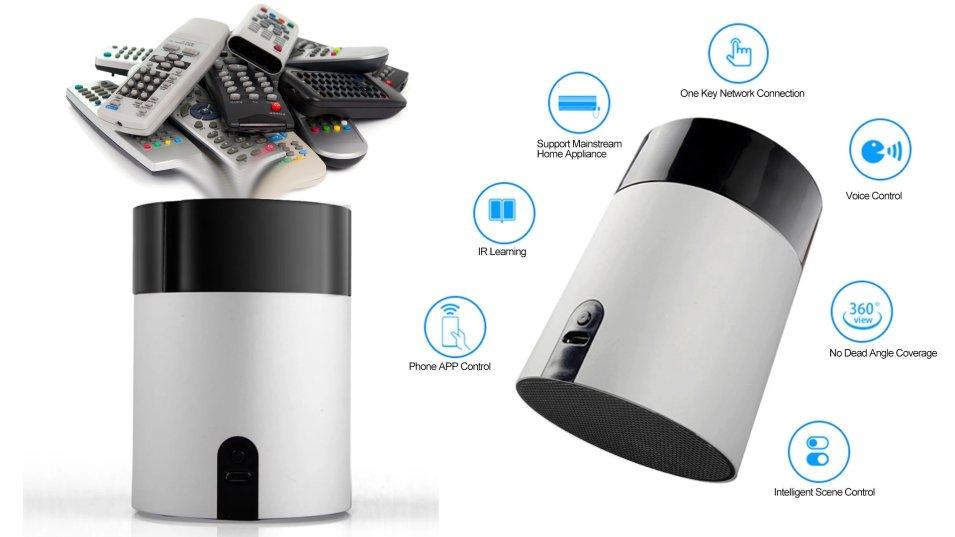 Smart IR remote Tuya - La casa diventa smart in poche mosse