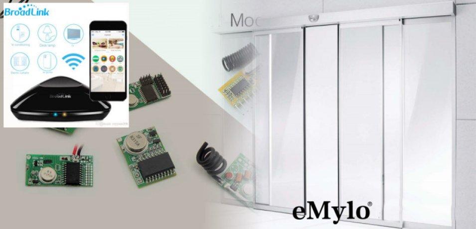 Come aprire una serratura elettrica con un relè RF eMylo e Broadlink RM pro