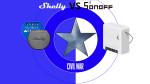 SHELLY 1 VS SONOFF MINI... Civil War! ... o SMART Home War?