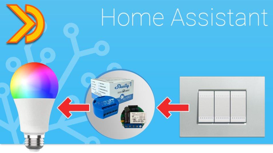 Come usare lampade Smart e interruttori grazie a Shelly e Home Assistant