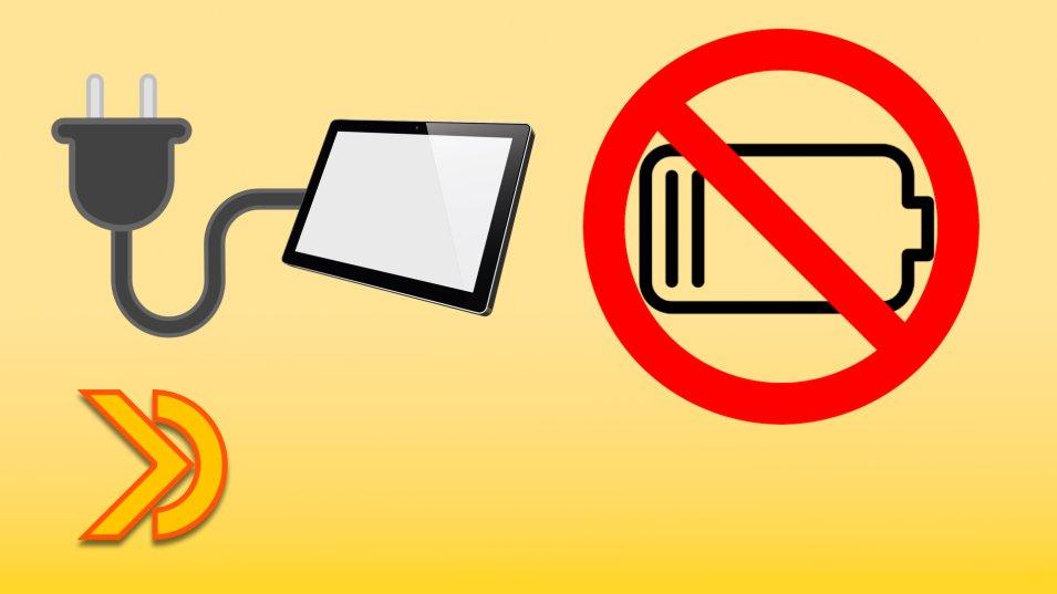 Come alimentare direttamente un Tablet rimuovendo la batteria