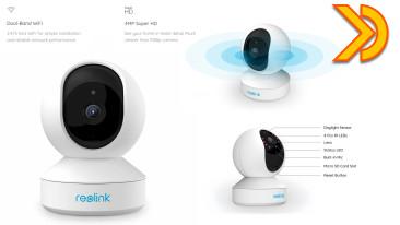 Recensione Reolink E1 Pro, la CAM Super HD 4MP, WiFi 5GHz, RTSP