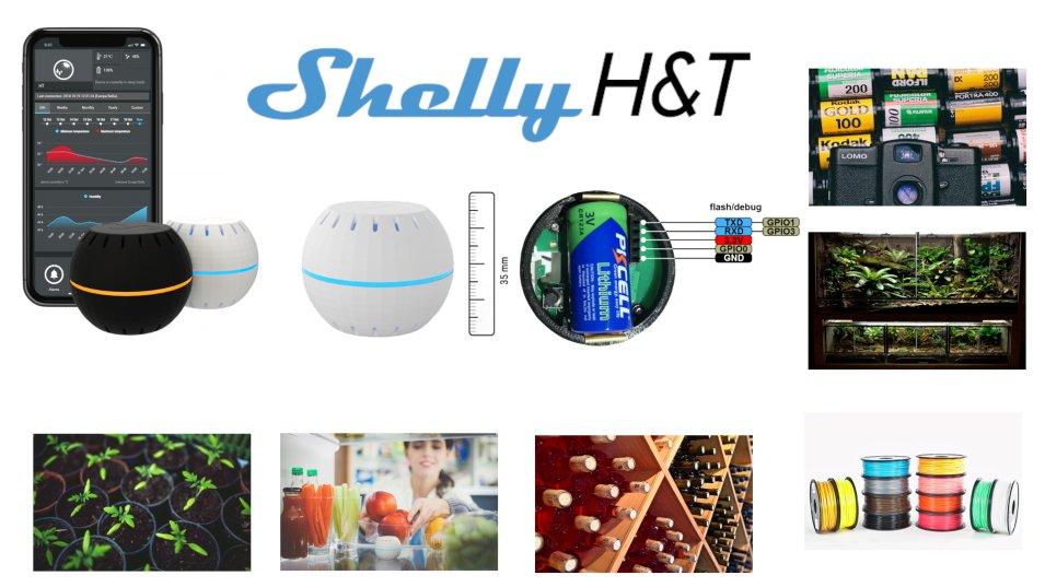 Shelly H&T - Umidità e Temperatura della Casa Smart sotto controllo!