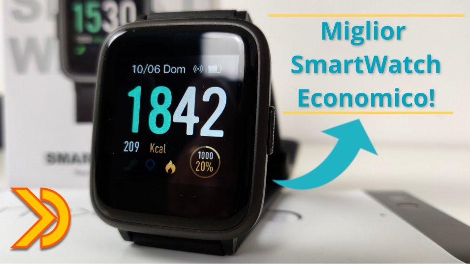 Miglior Smartwatch ECONOMICO 2019! - a meno di 40 su Amazon!