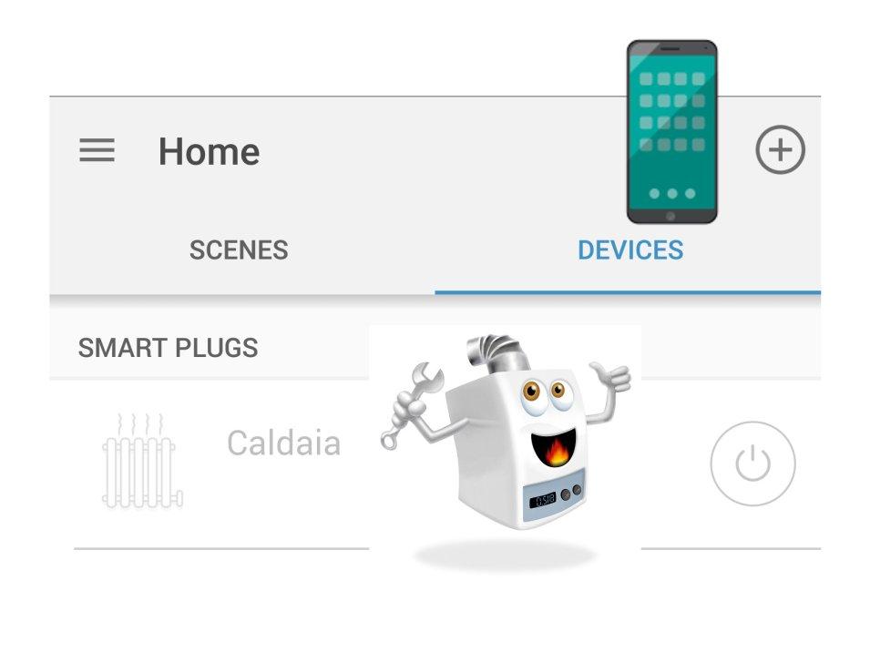 Come accendere-spegnere il riscaldamento tramite Smartphone
