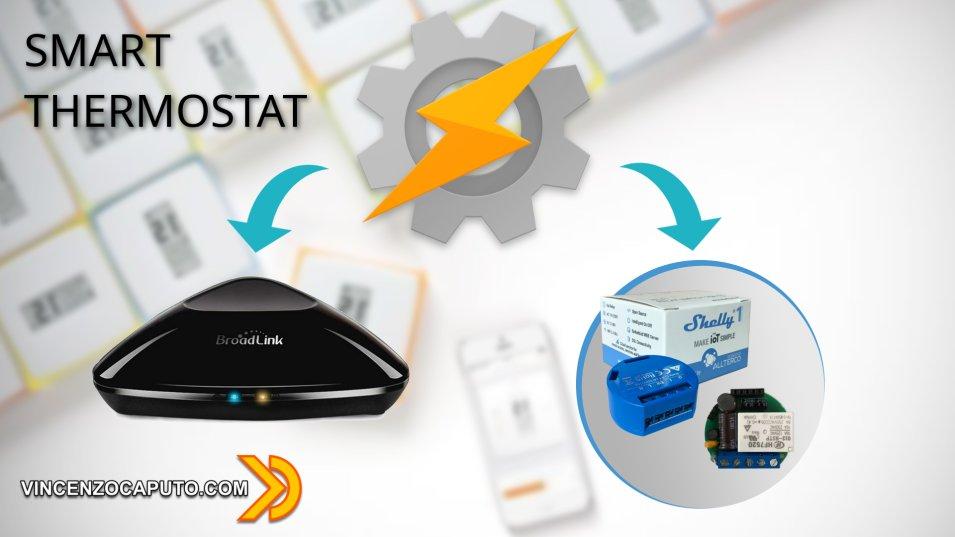 Come realizzare un Termostato Smart con Broadlink RM Pro, Shelly 1 e Tasker
