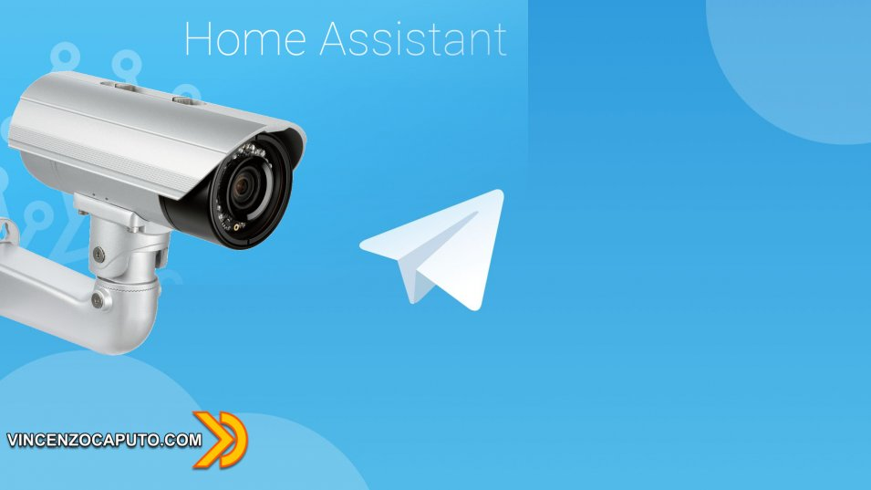 Home Assistant -Notifiche Telegram con Snapshot da Videocamere di Sicurezza