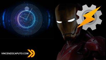 La sveglia di Tony Stark - Ironman Alarm Clock con Tasker