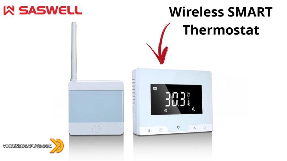 Nuovo Termostato WiFi Tuya Smart - Wireless anche verso la caldaia!