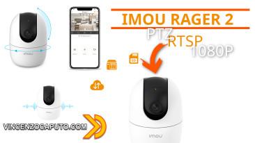 Telecamera WiFi IMOU Ranger 2 - la telecamera IP che ti segue!