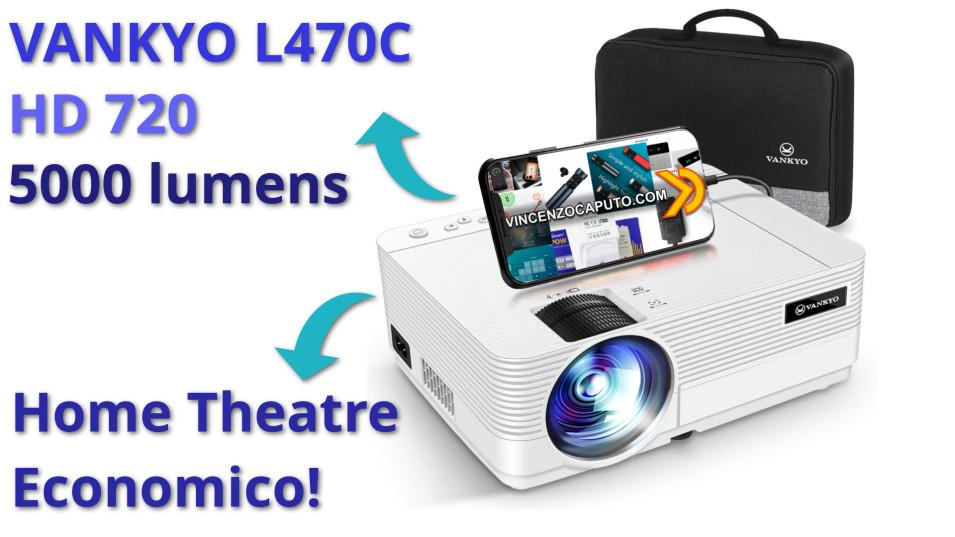 Proiettore ECONOMICO HD per HOME THEATRE Vankyo Leisure 470C