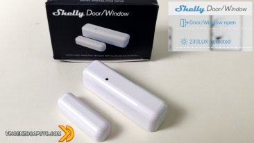 Shelly DoorWindow - il sensore porta finestra di casa Shelly in anteprima!