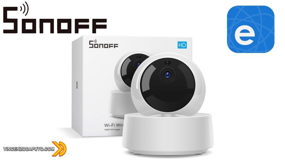 Sonoff GK-200MP2-B - Telecamera di sorveglianza IP Wi-Fi di Itead
