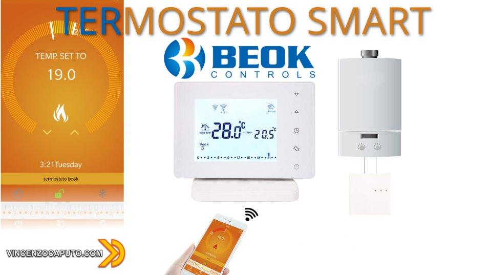 Beok BOT306RF, il Termostato Smart WIFI compatibile con Home Assistant