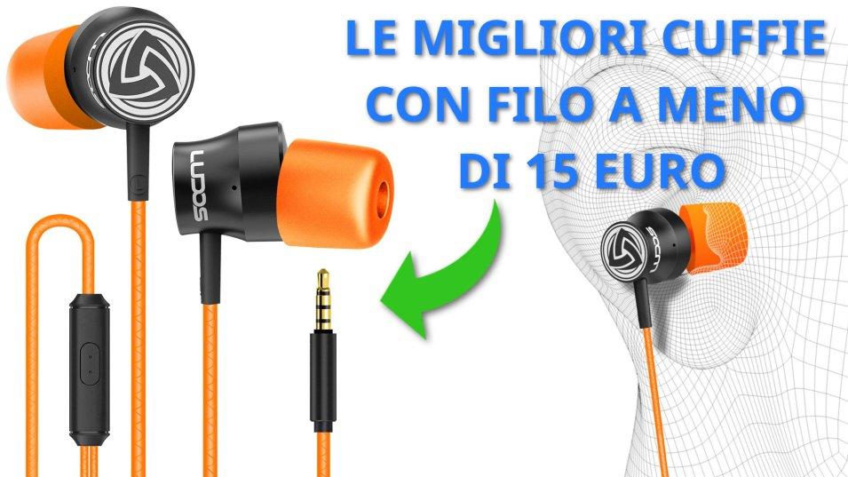 Ludos Turbo - migliori cuffie con filo sotto i 15 euro su Amazon!