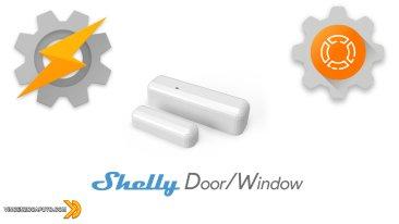 Shelly DoorWindow con notifica su Tasker tramite Autoremote