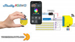 Shelly RGBW2 il miglior controller per strisce led?
