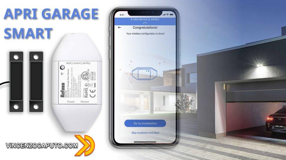 Recensione Refoss RSG100 - L'apri garage WiFI Smart con sensore Magnetico