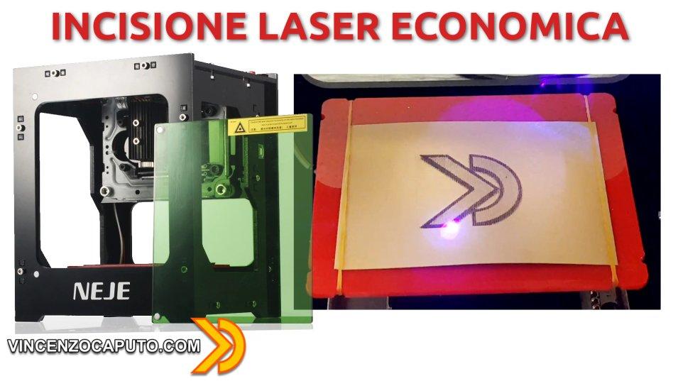 Incisione laser economica e fai da te con NEJE DK-8-KZ