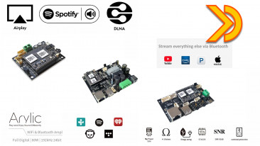 Arylic DIY Audio Boards. Streaming MultiRoom Spotify, Airplay, DLNA, Upnp