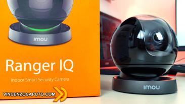 Videosorveglianza IP intelligente con IMOU Ranger IQ