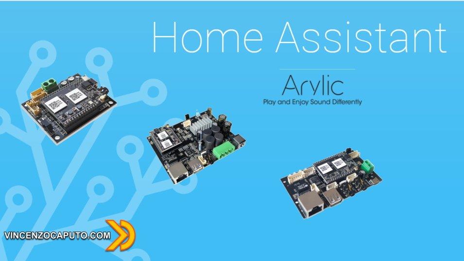 Home Assistant - Audio MultiRoom con Arylic DIY Audio Boards
