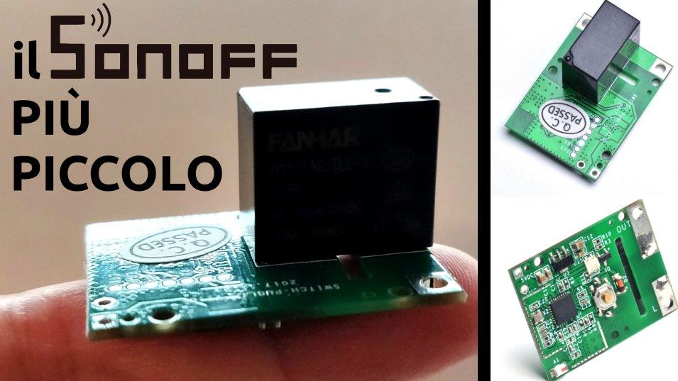 SONOFF RE5V1C - Un Sonoff 5V con contatto pulito veramente MICRO!
