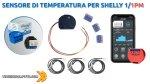 Sensore di temperatura per Shelly 1-1PM - Integrazione in Home Assistant