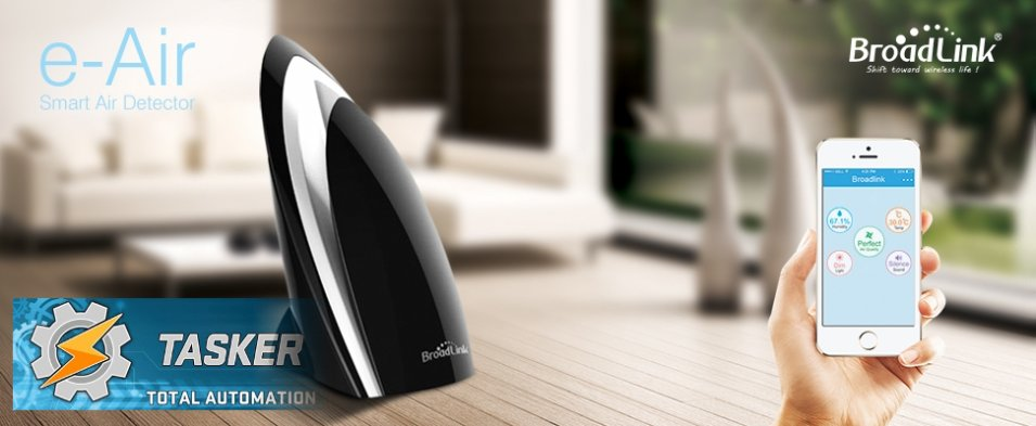 Broadlink e-Air alla prova con Tasker