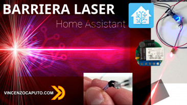 Barriera laser fai da te con Shelly 1 Integrazione in Home Assistant (MQTT)