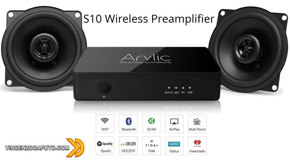 Arylic S10 e il tuo vecchio HiFi diventa Smart e Multiroom