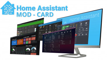 Home Assistant - MOD-CARD per modificare la grafica delle card di Lovelace