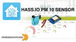 HASS.IO - SENSORE DI PARTICOLATO PM10 CON UN ESP8266