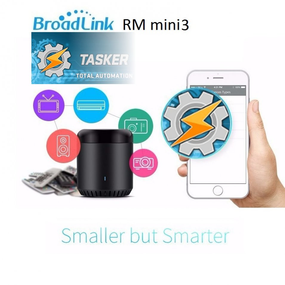 BroadLink RM Mini3 - la prova con Tasker